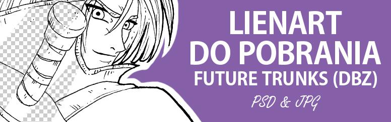 Lineart dopobrania – Future Trunks (DBZ)